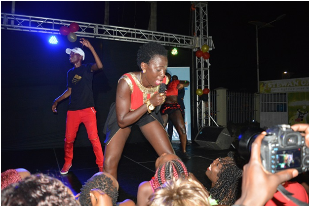 AKOTHE IS SIMPLY A STRIPPER IN PUBLIC AND WILL NOT PERFORM IN SOUTH SUDAN.