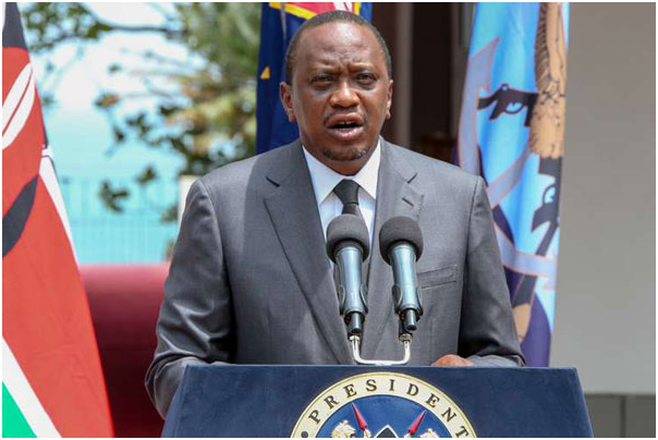 UHURU ATTENDS FUNERAL OF MURANGA BUSINESSMAN.