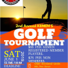 2ND ANNUAL KEMEN GOLF TOURNAMENT AND FAMILY BAR-B-QUE THEREAFTER JUNE 1ST 2019