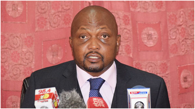 DP RUTO'S RECKLESSNESS IS NOT EXCUSABLE-SAYS MOSES KURIA