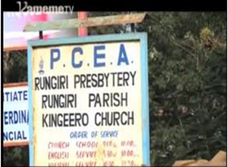 """RUNGIRI CHURCH HAUNTS MANY AS KENYANS ECHO THE SAME WORDS 36 YEARS LATER TO THE EFFECT THAT """"THE LEADING SHEEP IS LAME"""""""