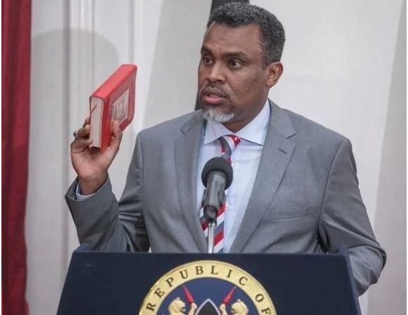 THE PLOT GETS THICKER AS NOORDIN HAJI RELEASES THE LIST OF SHAME.. CS ROTICH IN THE MIX.